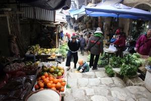 Le marché de Sa Pa.