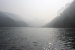 Le majestueux lac de Ba Bê.
