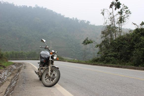 Le sentier Ho Chi Minh ne m'a pas déçue. La route était magnifique.