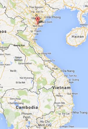 Map Ninh Binh